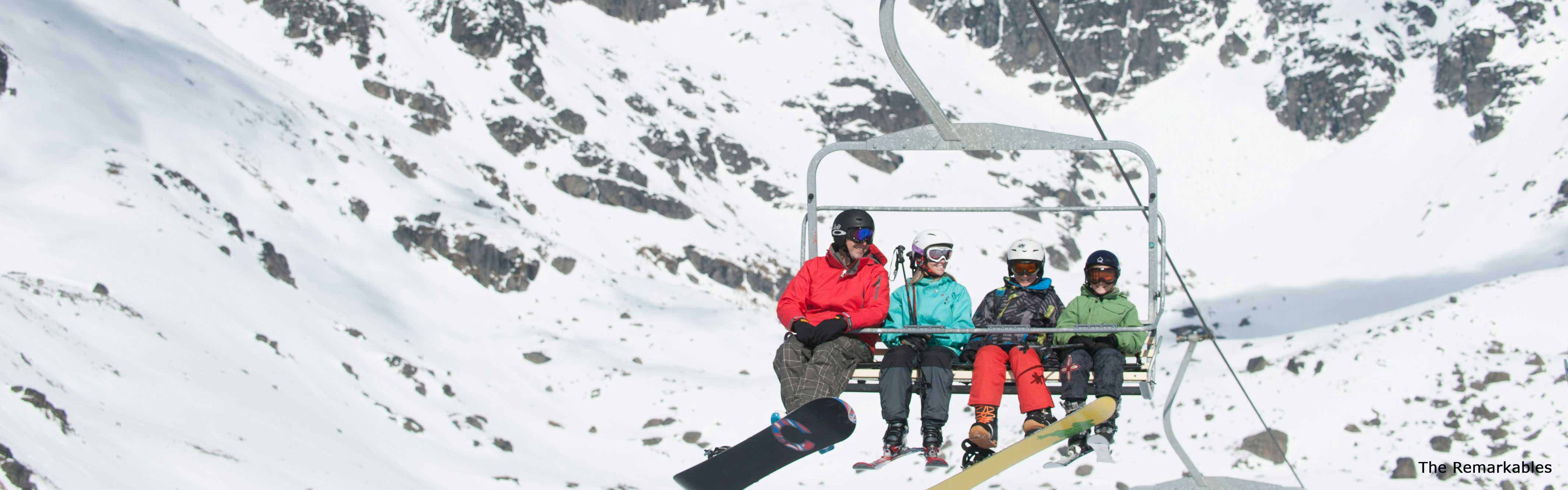 Queenstown Ski Packages  Book a 7 Day Family Ski Holiday