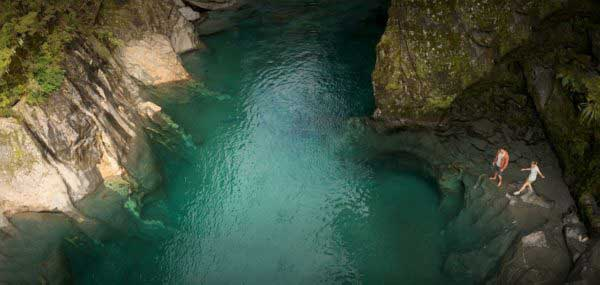 Haast Pass Blue Pools
