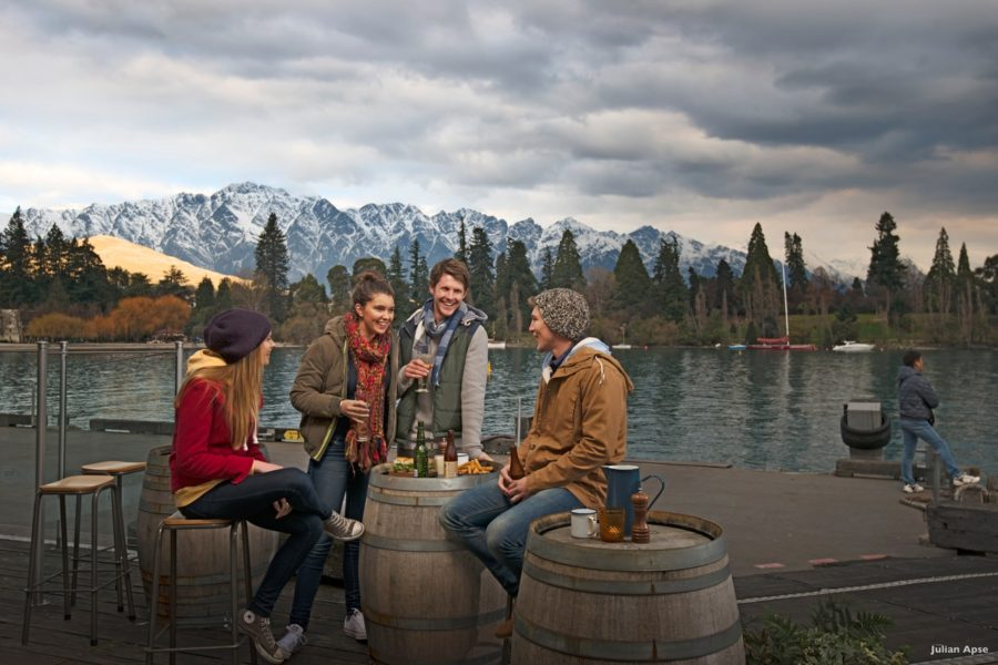 Queenstown activities bars lakefront