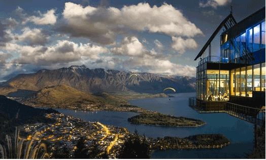 Queenstown activities Skyline Gondola dinner