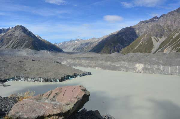 Tasman Glacier, Mt Cook Village