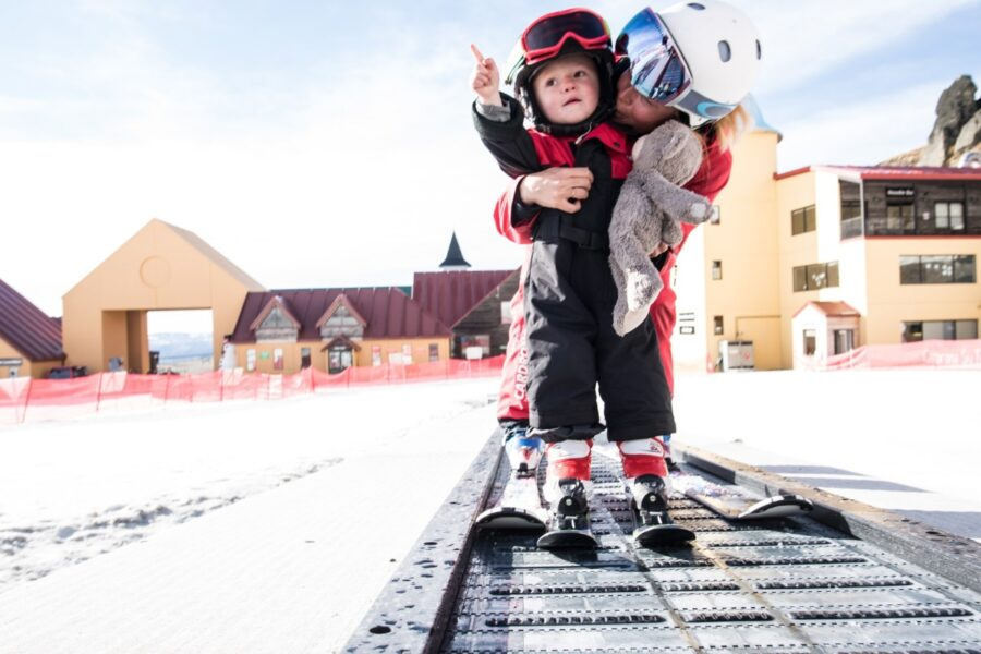 Family Cardrona ski package holiday with daycare on-mountain at Cardrona Alpine Resort