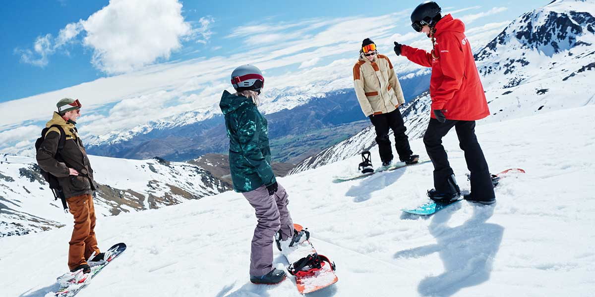 05 Day Queenstown Ski Coach Package