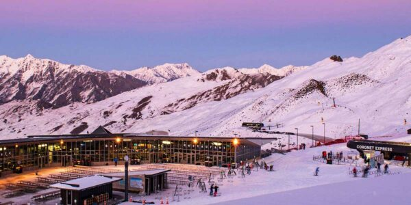 coronet peak ski field queenstown, one of the top queenstown ski resorts