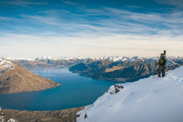 the view from The Remarkables Ski Field one of the best Queenstown ski resorts where to ski in new zealand