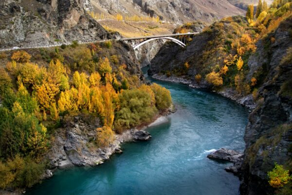 kawarau gorge queenstown new zealand road trip